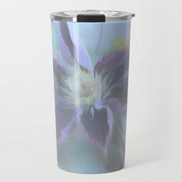 Neon Clematis Travel Mug