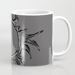 Liquid Sun on Grey Coffee Mug