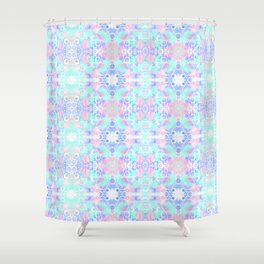 Bubble Pattern Shower Curtain
