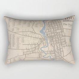 The Pearl City Rectangular Pillow