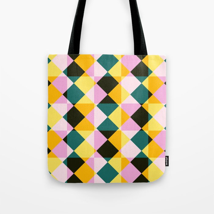 Onocentaur - Colorful Decorative Abstract Art Pattern Tote Bag