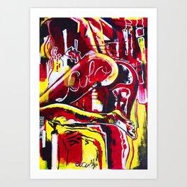 Culo Art Print