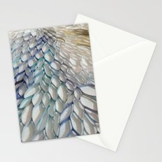 Movement in Blue Stationery Cards