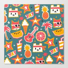 Summer is yay! Canvas Print