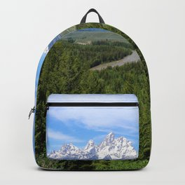 Snake River And The Grand Tetons Backpack