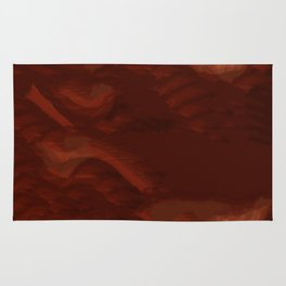 Abstract Landscape Sand Dunes Rug