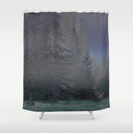 Broken Hearted Shower Curtain