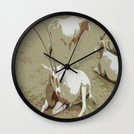 Oryx 1 Wall Clock