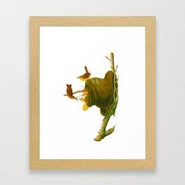 House Wren Bird Framed Art Print