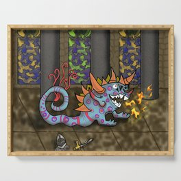 The Doodlethwumpus Beastie Serving Tray