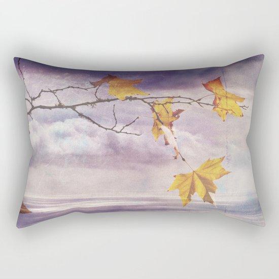 Faded Leaves - JUSTART © Rectangular Pillow
