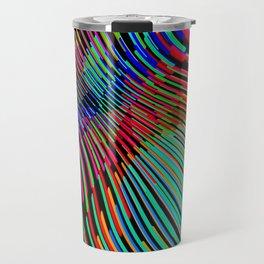 Vague Colorée Travel Mug