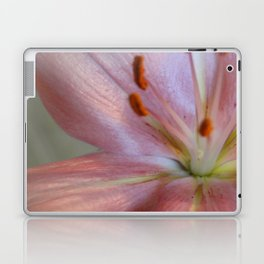 up close and personal - pink lily Laptop & iPad Skin