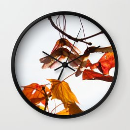Autumn Sonata I Wall Clock