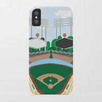 dodgers iPhone & iPod Cases featuring Dodger Stadium by Eric J. Lugo