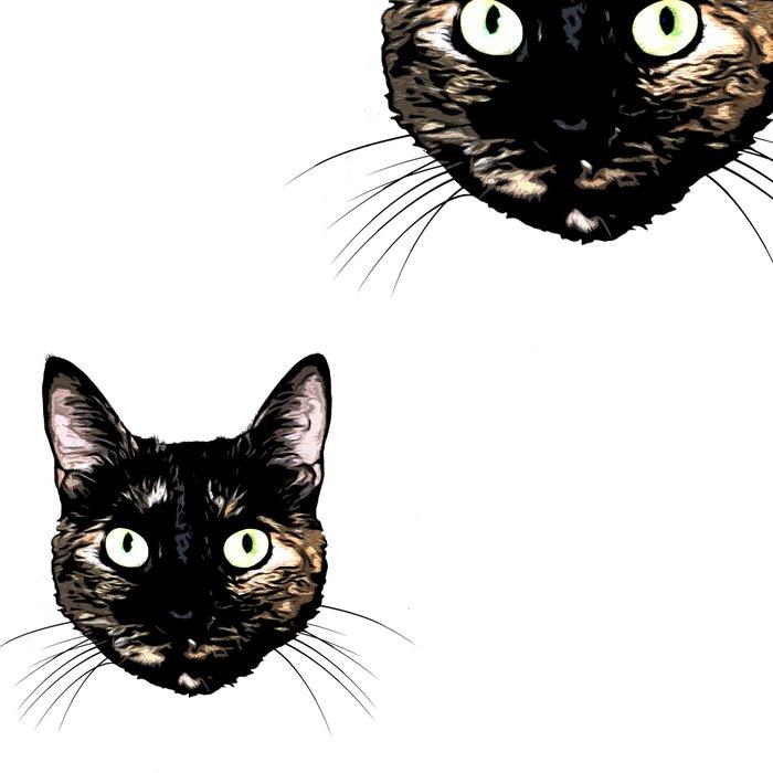 Peeking Cat Leggings