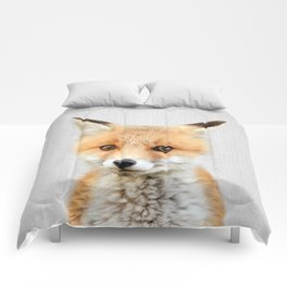 Baby Fox - Colorful Comforters