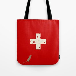 Swiss Cheese Flag Tote Bag