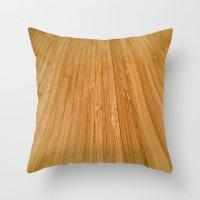 bamboo Throw Pillows featuring Bamboo by OPPhotos - where poetry meets photos