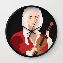 great italian classical music composer Wall Clock