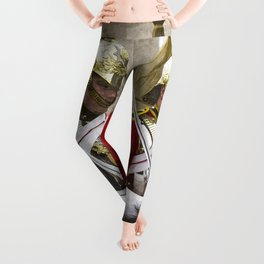 Household Cavalry Changing Of The Guard Art Leggings