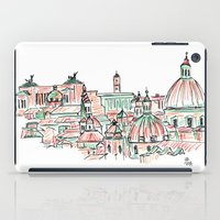 rome iPad Cases featuring Rome by Ursula Rodgers