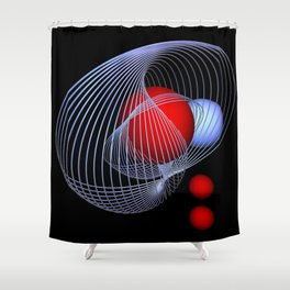 Inside And Outside Shower Curtain