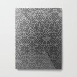 Damask Metal Print