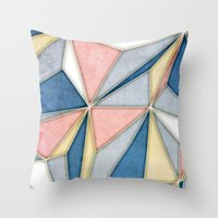 prism Throw Pillows featuring Prism by Daniel T.