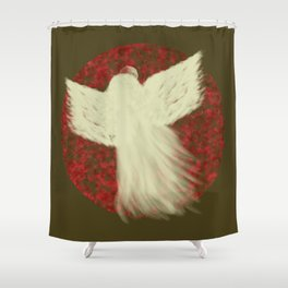 Holiday Angel Shower Curtain
