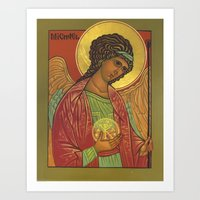 Archangel Michael Art Print