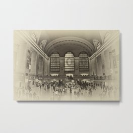 Grand Central Terminal Vintage Metal Print
