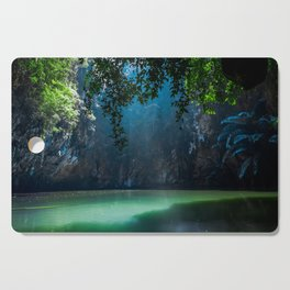 Lagoon Cutting Board