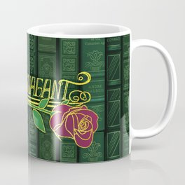 Extravagant Design Series: Book Pattern With Text Coffee Mug