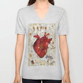 Secret Heart Unisex V-Neck