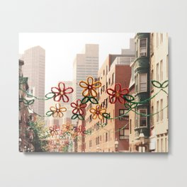North End, Boston - Feast of St. Anthony Metal Print
