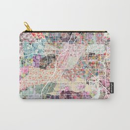 Las Vegas map Nevada Carry-All Pouch