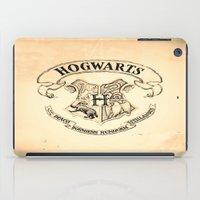 "hogwarts iPad Cases featuring HOGWARTS by ""CVogiatzi."