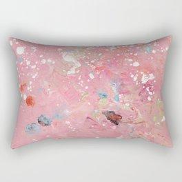 Softly Pink Rectangular Pillow
