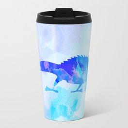 Abstract Chameleon Reptile Travel Mug