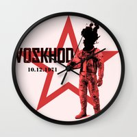 soviet Wall Clocks featuring Soviet experiments by Slug Draws