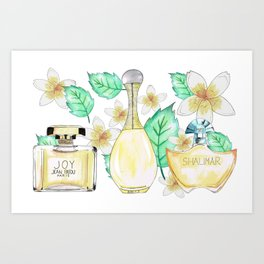 Perfumes Series 2 Art Print