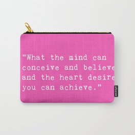 Norman Vincent Peale quote Carry-All Pouch
