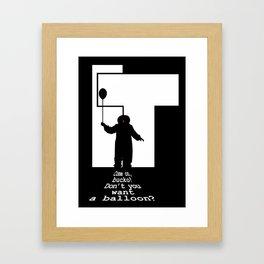 IT - Penniwise Framed Art Print