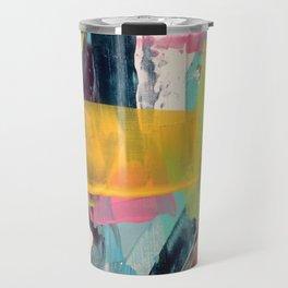 Hopeful[2] - a bright mixed media abstract piece Travel Mug