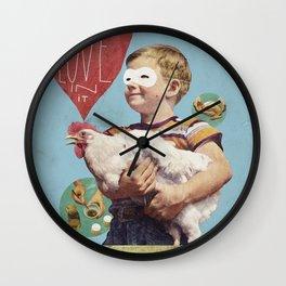 love in it Wall Clock