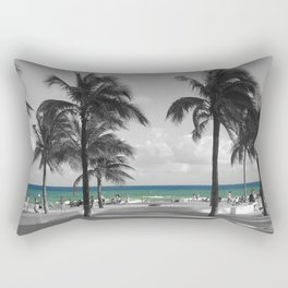 Miami Beach Florida Ocean photography Rectangular Pillow