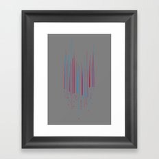 Urban Oscillations Framed Art Print