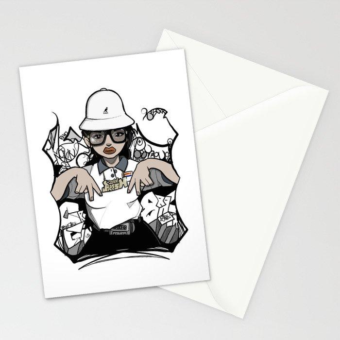 Lady Fresh. Stationery Cards