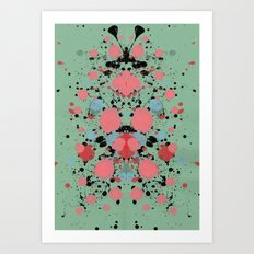 Lovely Thoughts Art Print